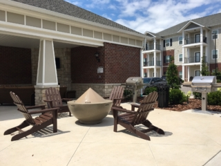 Olde Towne Apartments new firepit